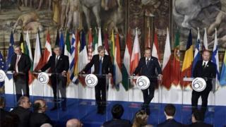 युरोपेली नेताहरु