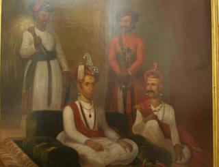 पुणे के पेशवा साम्राज्य की एक पेंटिंग