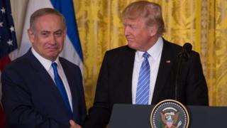 Нетаньяху и Трамп