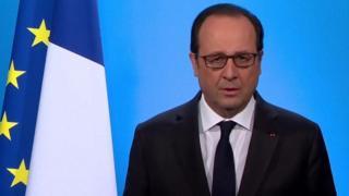 Francois Hollande, prezida w'Ubufaransa