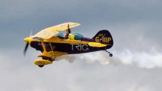 Throckmorton air show