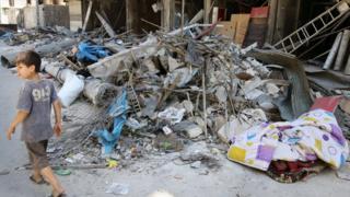 Halep'in Tarık El Bab mahallesi