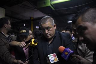 Carlos Rodas arrestado