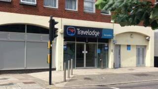 Travelodge Norwich.