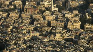 Вид на Дамаск
