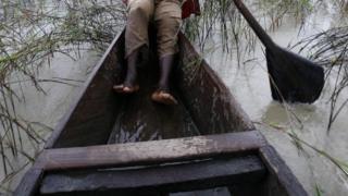 Upper Volta river