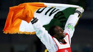 Cheick Sallah Junior Cisse décroche la première médaille d'or de l'histoire de la Côte d'Ivoire