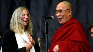 Patti Smith and the Dalai Lama