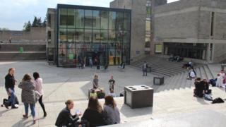 Students at the University of East Anglia