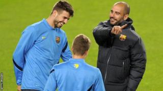 Guardiola waxa uu doonayaa in Man City ay barato farsama Barcelona