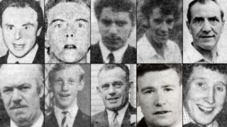 The 10 victims of the Kingsmills massacre