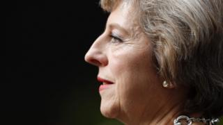 Theresa May, 13 July 2016