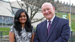 Miss Satkunarajah has thanked MP Hywel Williams for his help