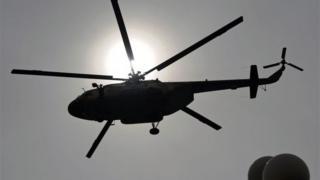 Diyaarad helicopter- ah oo ku burburtay Afghanistan