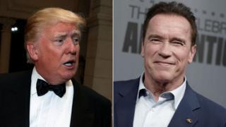 Donald Trump taunts Schwarzenegger over Celebrity Apprentice ratings
