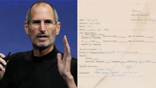 Steve Jobs and job application
