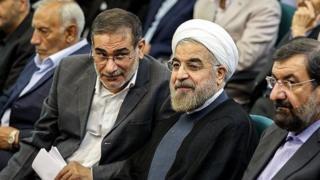 حسن روحانی و علی شمخانی