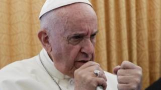 Baadariga ugu sareeya kaniisadda Catholic-ga, Pope Francis