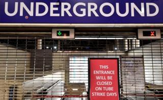 Information sign at Waterloo station