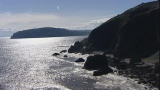 The Captain Sandstone rock formation lies under the Moray Firth and out into the North Sea