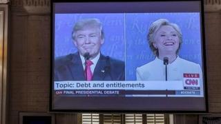 Mjadala wa tatu wa urais kati ya Clinton na Trump