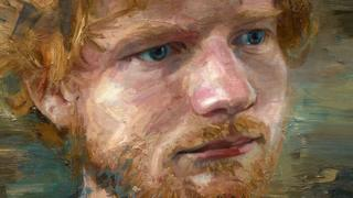 Ed Sheeran portrait