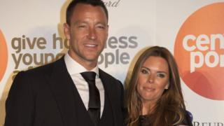 John Terry and his wife Toni
