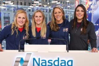 Four members of USA Hockey women's team