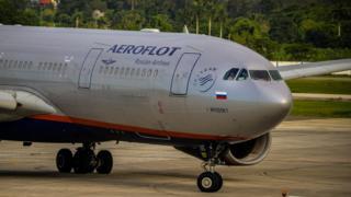 Aeroflot airliner