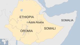 Kaartaa Oromiyaa fi Somaalee agarsiisu