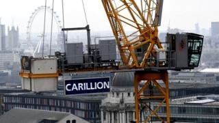Carillion cranes