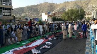 در حمله انتحاری به 'جنبش روشنایی' حدود ۸۴ نفر کشته و بیشتر از ۲۰۰ نفر زخمی شدند