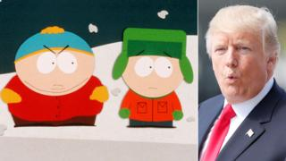 South Park and Donald Trump