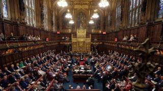 Le Parlement anglais vu de l'intérieur. Aucun parti n'a réussi à obtenir la majorité absolue à l'issue des élections générales