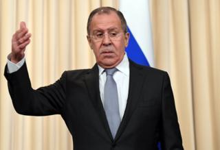 Сергей Лавров в понедельник встречался в Москве с лидером дипломатии ЕС Федерикой Могерини