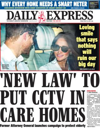 Daily Express Friday