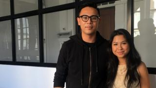 Htet Myet Oo and Isabella Sway-Tin