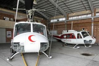 هلیکوپترهای امدادی ایران