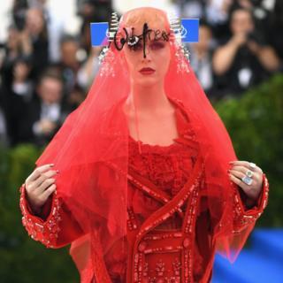 Katy Perry at Metropolitan Museum of Art