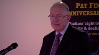 "Charlie Flanagan said prosecutions must be ""vigorously pursued"" in all unlawful troubles related deaths, regardless of the perpetrator"