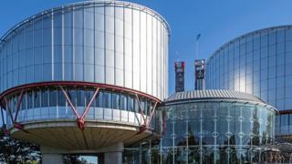 Здание страсбургского суда
