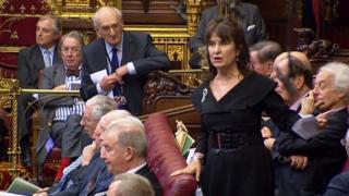 Заседание палаты лордов 7 марта 2017 года