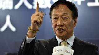 Foxconn boss Terry Gou