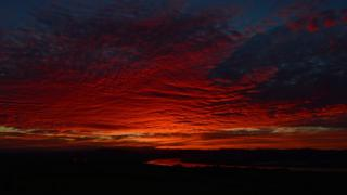Sunset over Newburgh