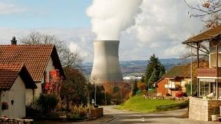 38% الطاقة في سويسرا تأتي من المفاعلات النووية الخمسة الموجودة في البلاد