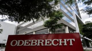 Headquarters of Brazilian construction giant Odebrecht SA in Sao Paulo, Brazil