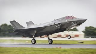 The F-35B Lightning II stealth fighter