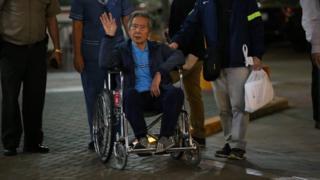 Alberto Fujimori deja el hospital