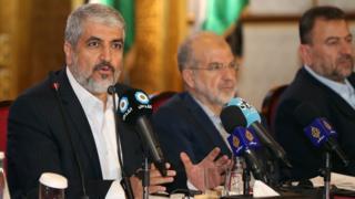 Hamas'ın siyasi lideri Halid Meşal