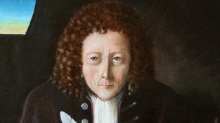 Pintura moderna de Robert Hooke